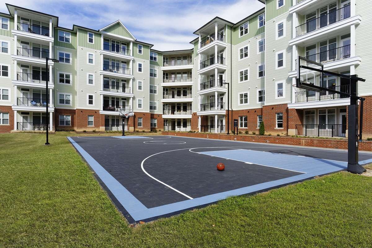 Basketball & Volleyball Courts