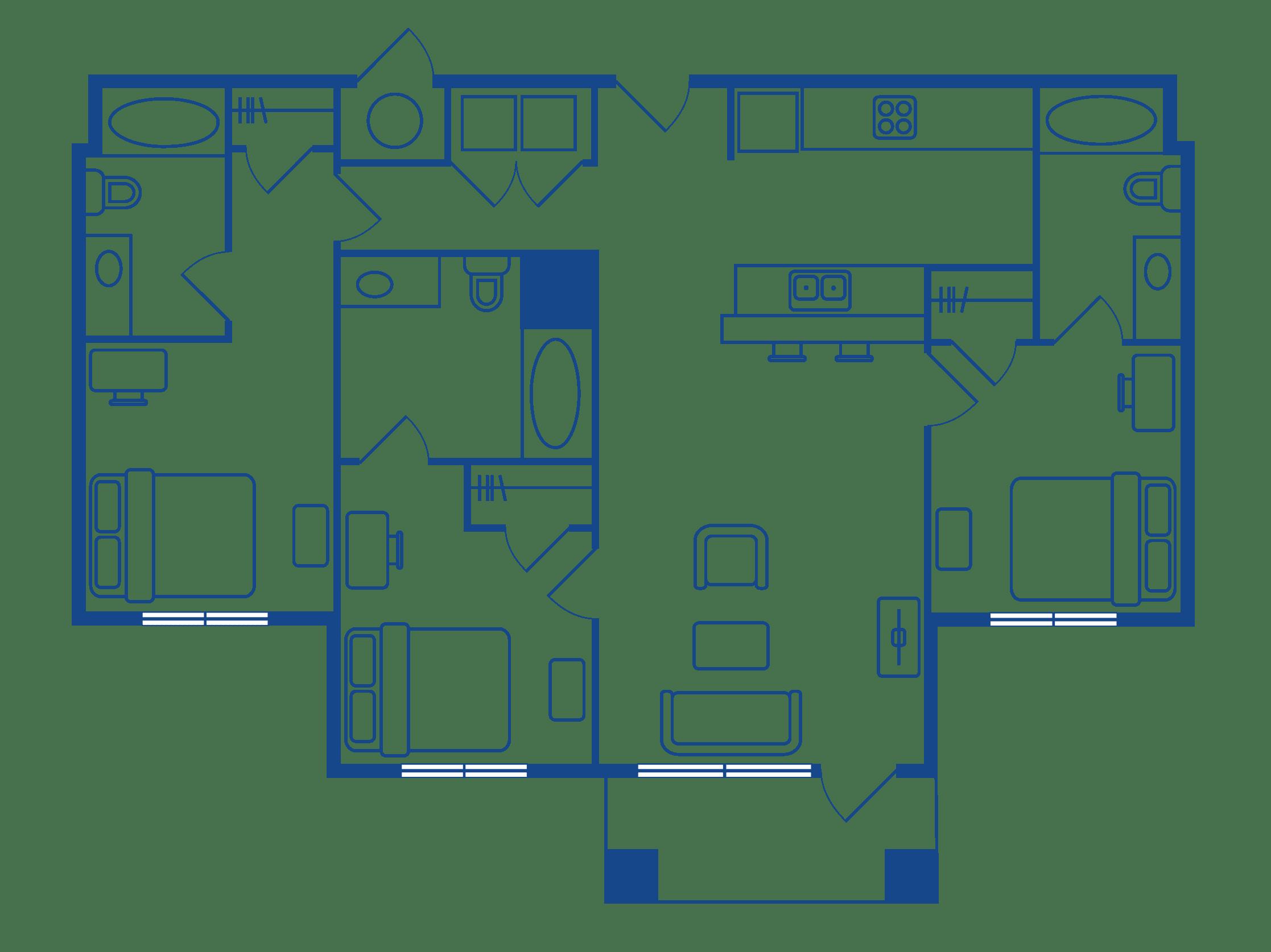 3 Bedroom 3 Bath Apartments Chapel Hill NC