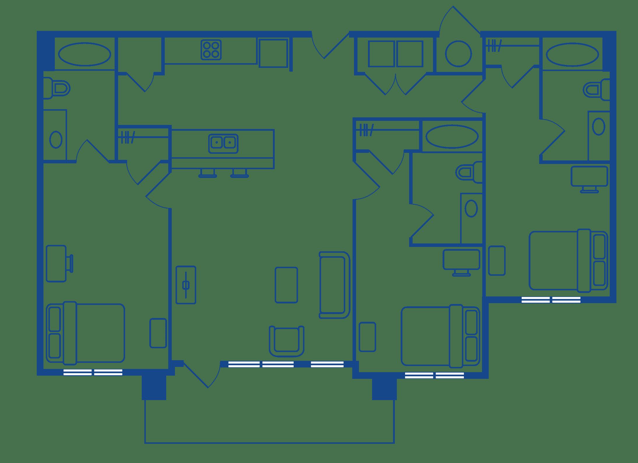 3 Bedroom 3 Bath Apartments For Rent Chapel Hill NC