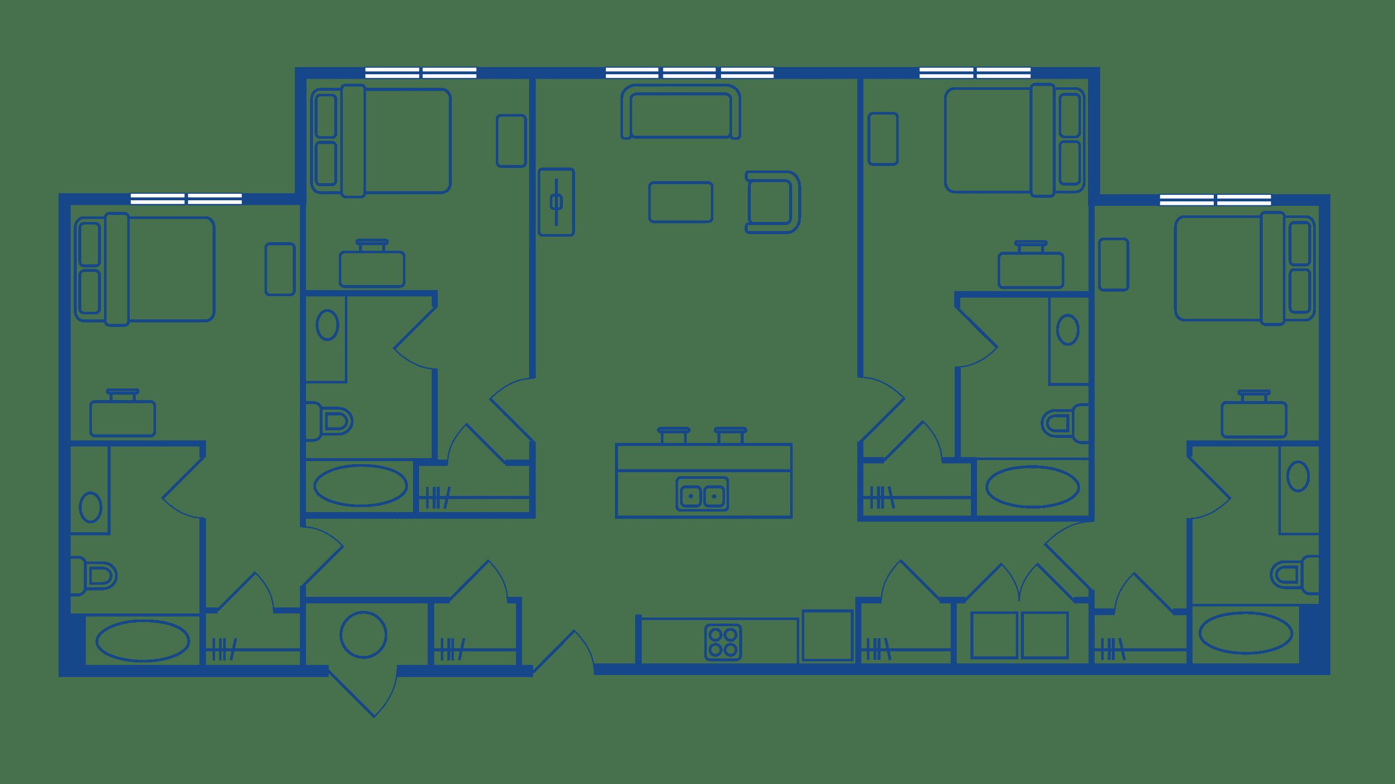 4 Bedroom 4 Bathroom Apartments For Rent Chapel Hill NC