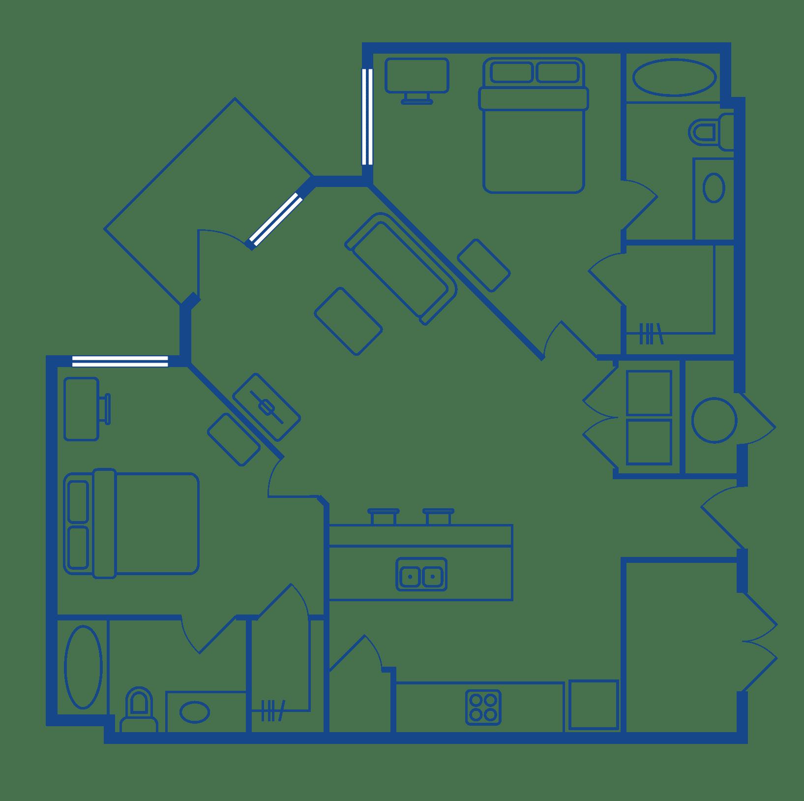 2 Bedroom 2 Bath Apartments For Rent Chapel Hill NC