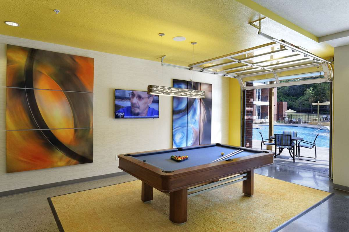 Clubroom with Games